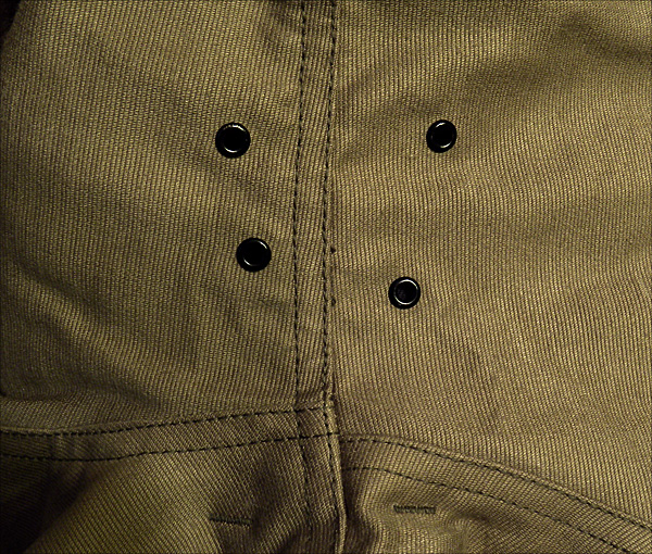 Arm Grommets - The Real McCoy's N-1 Deck Jacket