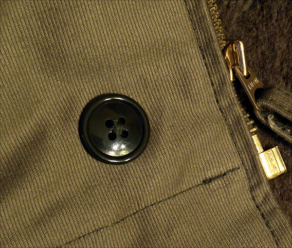 Button - The Real McCoy's N-1 Deck Jacket