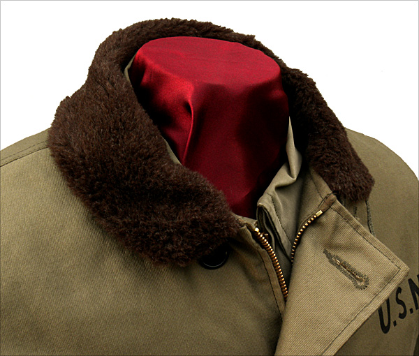 Collar - The Real McCoy's N-1 Deck Jacket