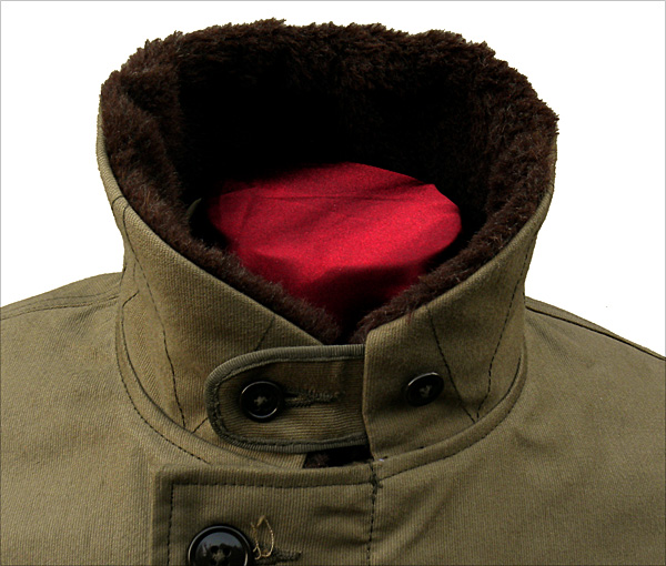 Collar Closed - The Real McCoy's N-1 Deck Jacket