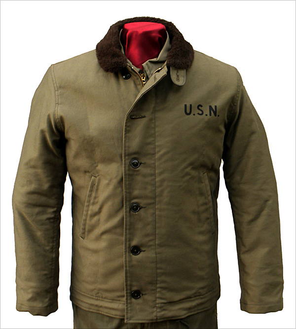 Front View - The Real McCoy's N-1 Deck Jacket