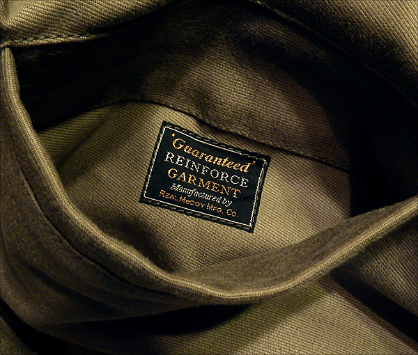 Inside Pocket - The Real McCoy's N-1 Deck Jacket