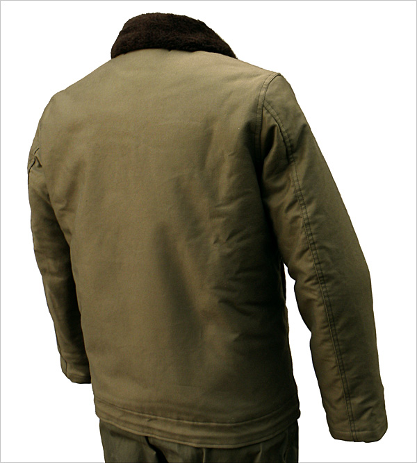 Reverse View - The Real McCoy's N-1 Deck Jacket