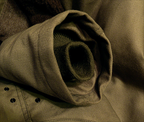 Sleeve Cuff - The Real McCoy's N-1 Deck Jacket