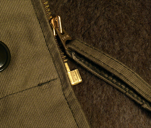 Reproduction Talon Zipper - The Real McCoy's N-1 Deck Jacket