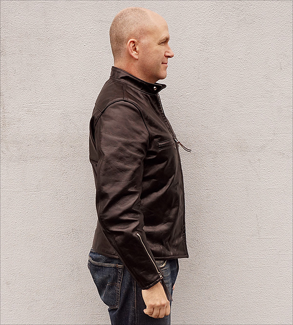 Californian Racer Horsehide Jacket by Good Wear Leather