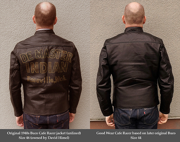 Good Wear Californian Racer Black Horsehide Buco Jacket