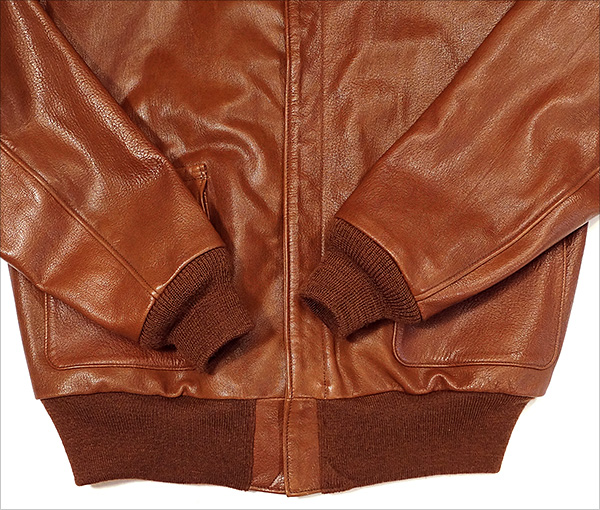 Rough Wear W535-AC-18091 Type A-2 Flight Jacket by Good Wear Leather
