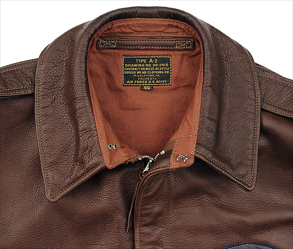 Good Wear Rough Wear 27752 Type A-2 Jacket Cowhide