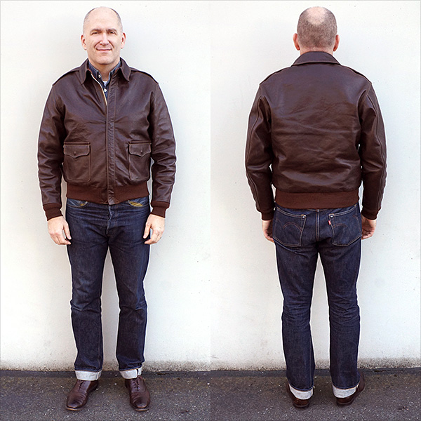 Good Wear Rough Wear 27752 Type A-2 Flight Jacket Horsehide