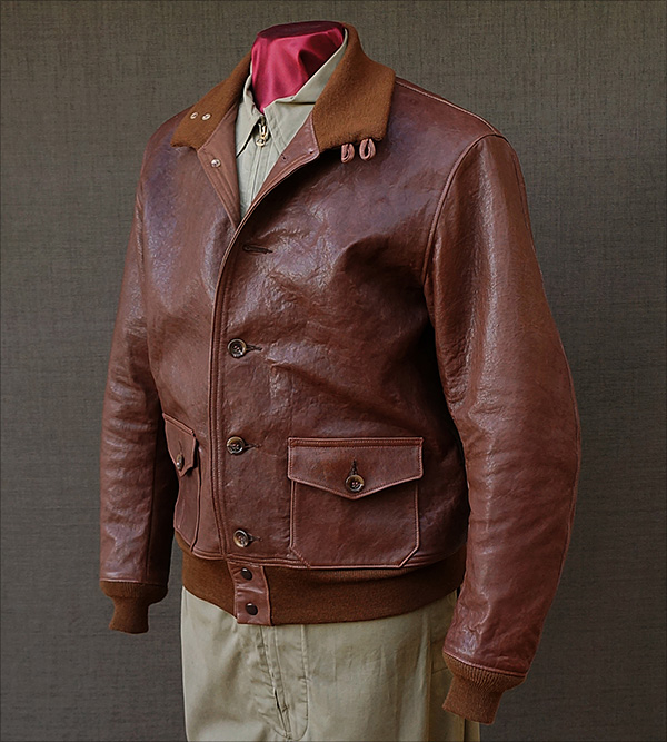 1930s Capeskin Type A-1 Jacket by Good Wear Leather