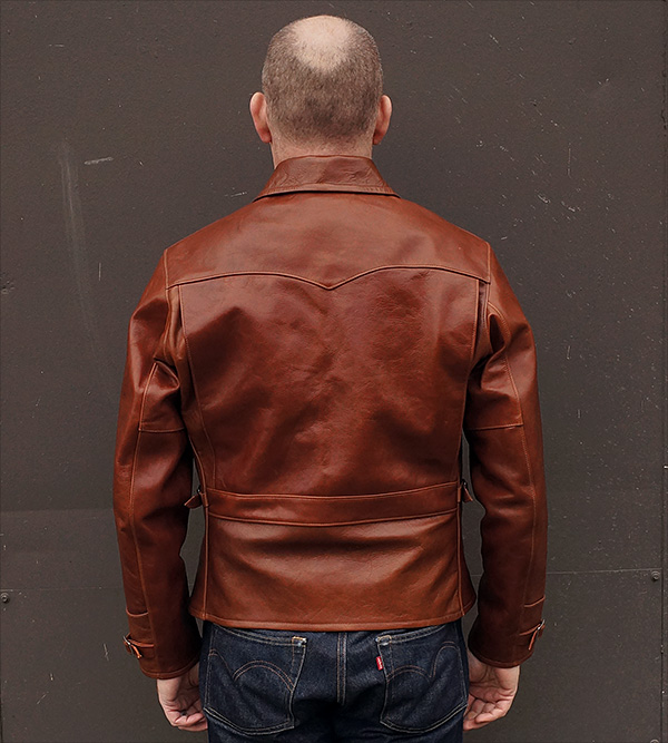 Good Wear Ventura Half-Belt Jacket Horsehide