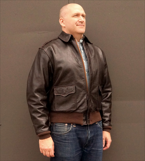 Good Wear Leather Coat Company — Sale 1941 Werber A-2 Jacket 8df165ab680