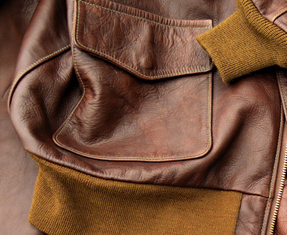 New Golden Brown Wool Knits by Good Wear Leather