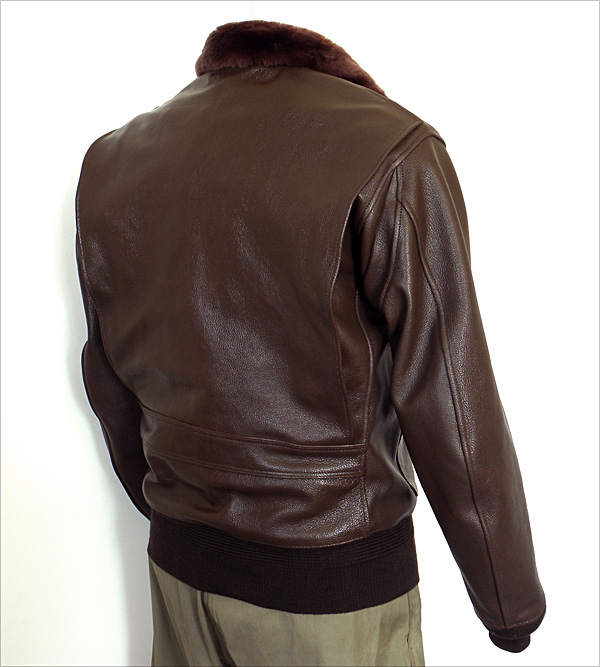 Good Wear Leather Monarch Mfg. Co. M-422 Jacket Reverse View