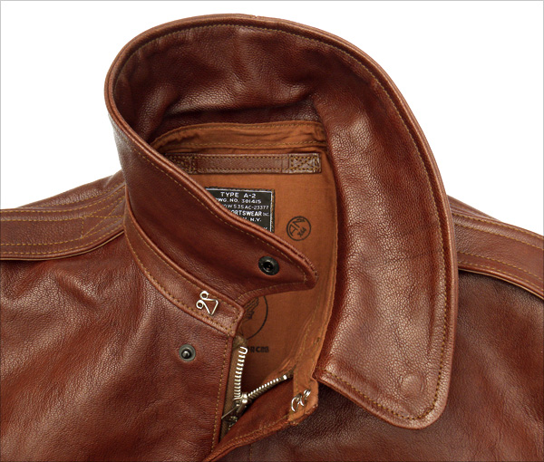 Good Wear Leather Perry Sportswear Type A-2 Collar