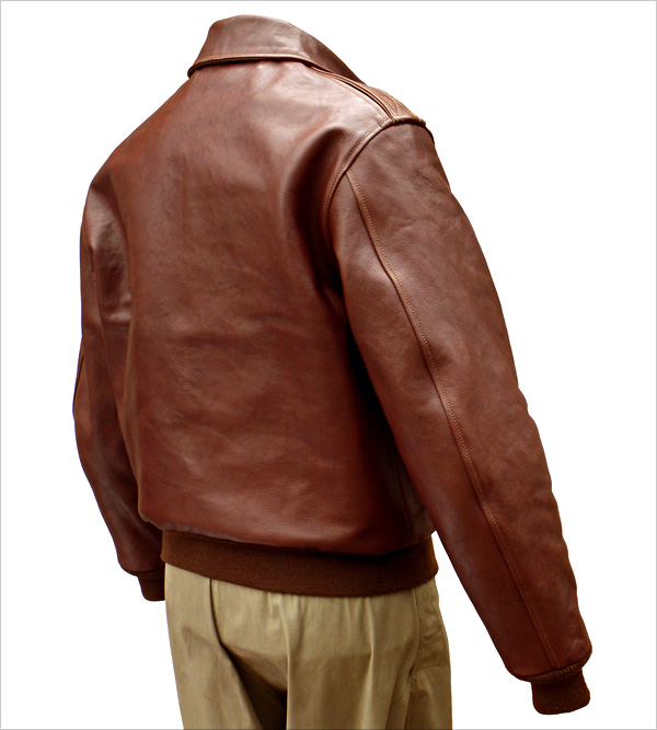Good Wear Leather Perry Sportswear Type A-2 Reverse View