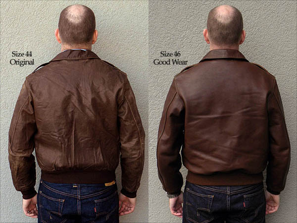 Good Wear Leather Coat Company — Poughkeepsie Type A-2 ...