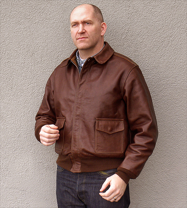 Good Wear Leather Coat Company — Poughkeepsie Type A-2 Jacket ...
