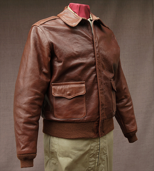 Good Wear Leather Rough Wear 42-1401-P Type A-2 Jacket