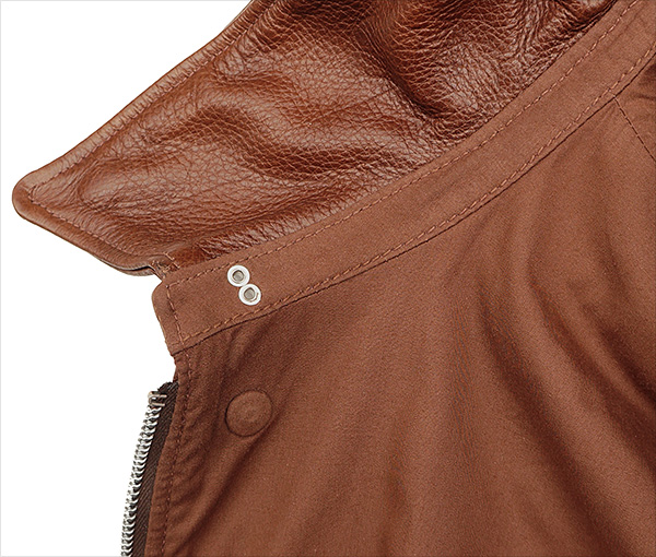 Good Wear Leather Rough Wear 42-1401-P Type A-2 Jacket Collar