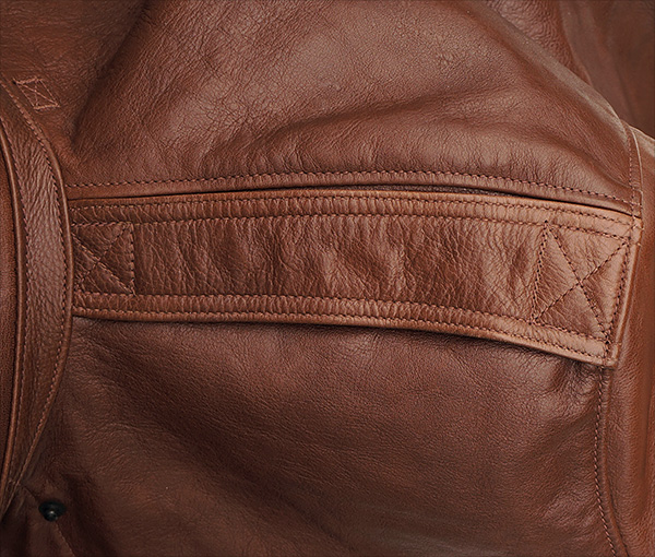 Good Wear Leather Rough Wear 42-1401-P Type A-2 Jacket Epaulet