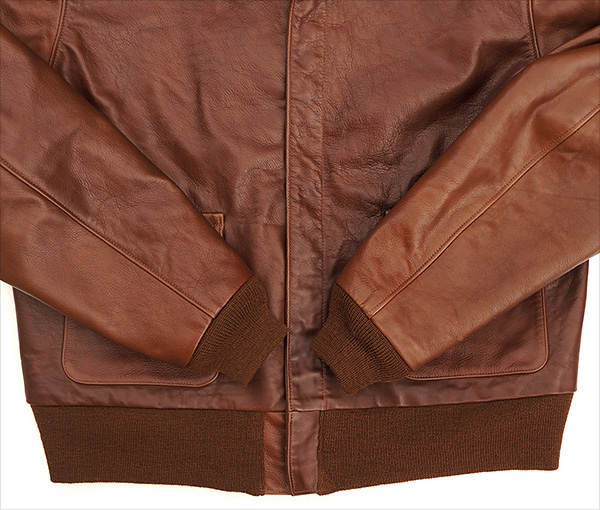 Good Wear Leather Rough Wear 42-1401-P Type A-2 Jacket Knits