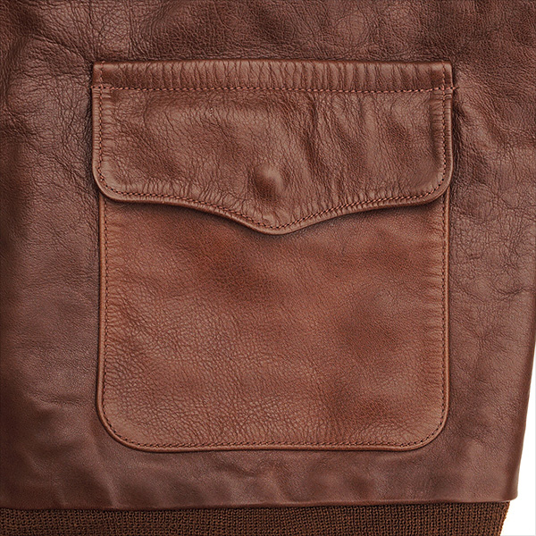 Good Wear Leather Rough Wear 42-1401-P Type A-2 Jacket Pocket