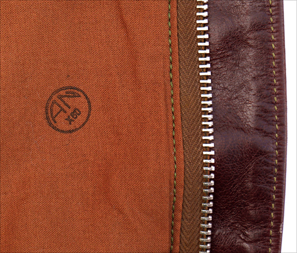 Good Wear Leather's Rough Wear Type A-2 AN Stamp