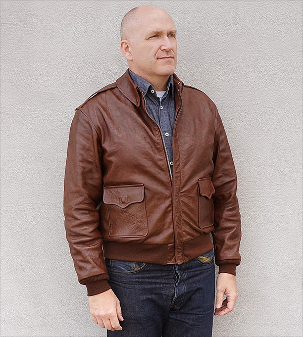 Good Wear Leather Werber Sportswear 42-1402-P Type A-2 Jacket