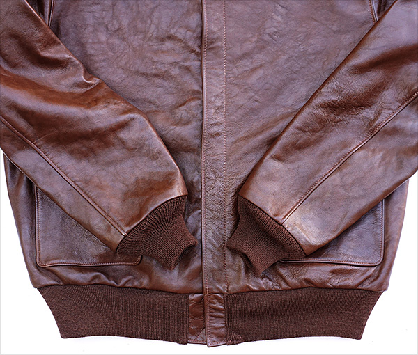 Good Wear Leather Werber Sportswear 42-1402-P Type A-2 Jacket Knits