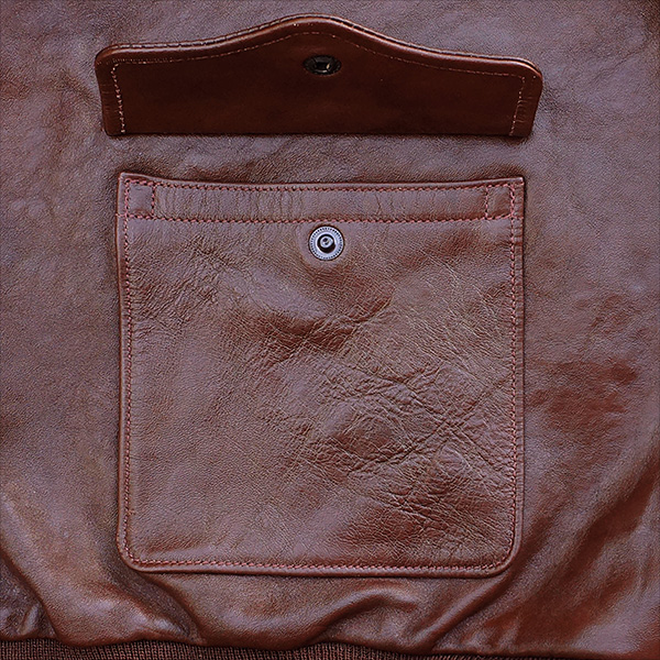 Good Wear Leather Werber Sportswear 42-1402-P Type A-2 Jacket Pocket